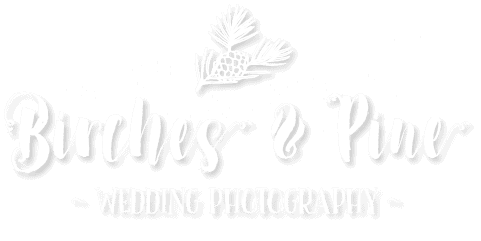 Birches & Pine Wedding Photography Full Logo